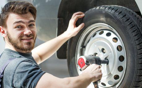 Přezouvání pneu všech rozměrů i s vyvážením