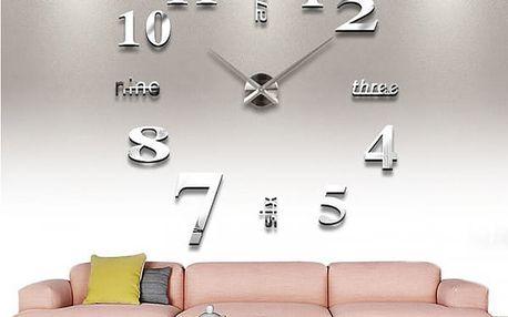 Nástěnné hodiny do obýváku z akrylu - 10 barev