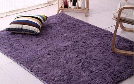 Měkký koberec do ložnice či obýváku