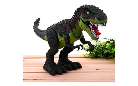 Tyrannosaurus rex vydávající zvuky - 2 barvy