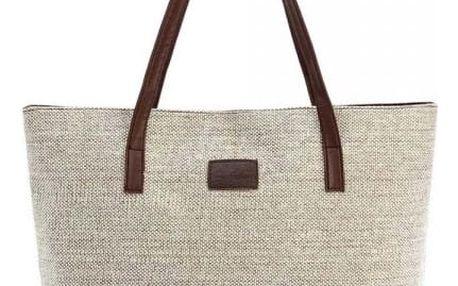 Prostorná kabelka v ležérním stylu - 5 barev