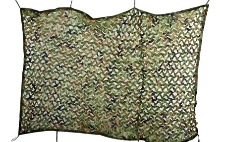 Maskovací síť s úchyty - 2 x 4 m