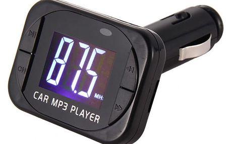 FM transmitter a USB přehrávač