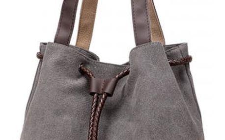 Taška přes rameno s abstraktním květinovým motivem - více barev