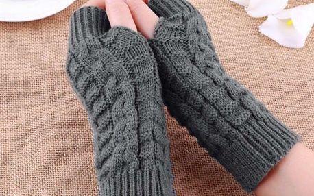 Dámské pletené rukavice - bezprsté - dodání do 2 dnů