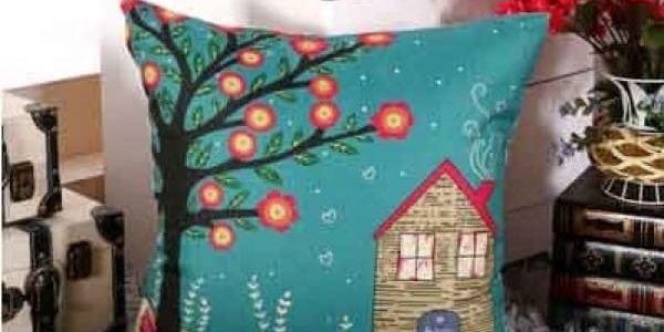 Povlak na polštář s romantickým motivem - dodání do 2 dnů