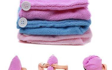 Vysoce absorpční ručník na vlasy z mikrovlákna