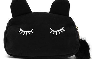 Dámská kosmetická taštička - kočka