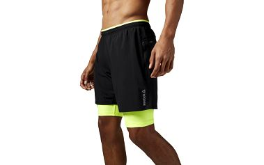 Reebok Running Essentials 2 in 1 Short L