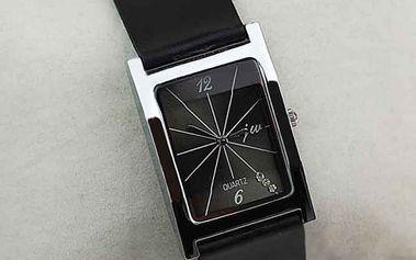 Unisex hodinky s obdélníkovým ciferníkem