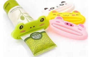 Pomůcka na vytlačování zubní pasty pro děti - dodání do 2 dnů