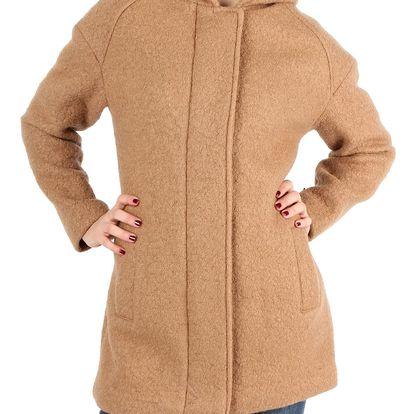 Dámský vlněný retro kabátek Indigo vel. EUR 48, UK 20