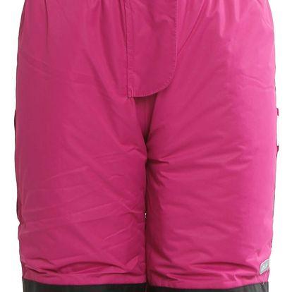 Dívčí lyžařské kalhoty s reflexními prvky Loap vel. 3 - 4 roky, 104 cm