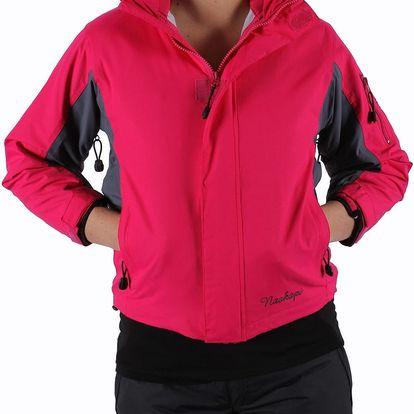 Dívčí lyžařská bunda 2v1 Naskapi vel. 10 let, 140 cm