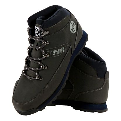 Pánská obuv Henleys Hiker Nubuck vel. EUR 46, UK 12