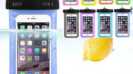 Voděodolný obal na mobilní telefony a jiné doplňky - 2 velikosti