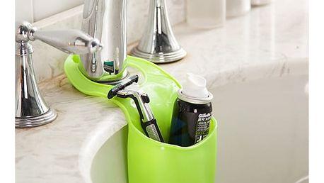 Silikonová kapsa na houbičku či mýdlo - zelená - dodání do 2 dnů