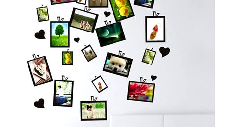 Samolepka na zeď pro fotografie - dodání do 2 dnů