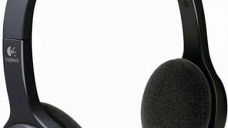 Headset Logitech H600 (981-000342) černý USB