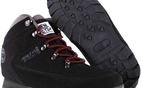 Pánská obuv Henleys Hiker Nubuck vel. EUR 43, UK 9