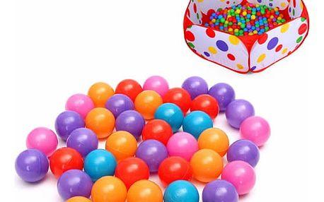 Barevné míčky do dětského bazénku