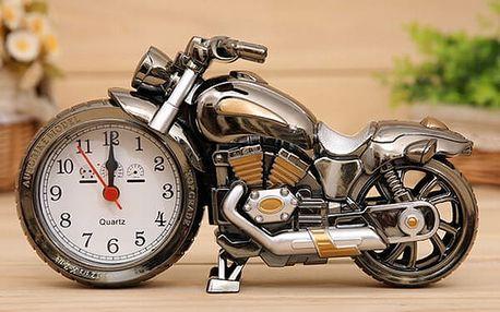 Budík v designu motorky - dodání do 2 dnů