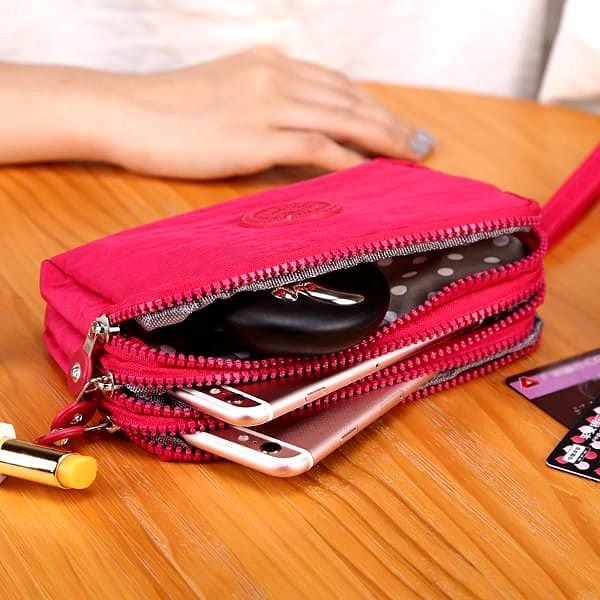 Dámská peněženka s místem na drobnosti - 5 barev