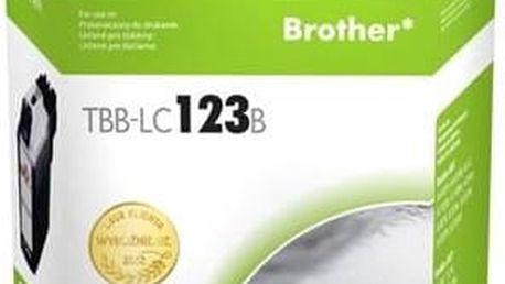 Inkoustová náplň TB Brother LC123BK - kompatibilní (TBB-LC123B)