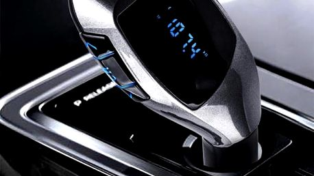 Bluetooth FM transmitter s USB