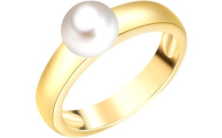 Prsten s perlou Nova Pearls Copenhagen Lamia, vel. 56