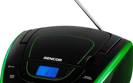Rádio s CD přehrávačem Sencor SPT 1600 BGN