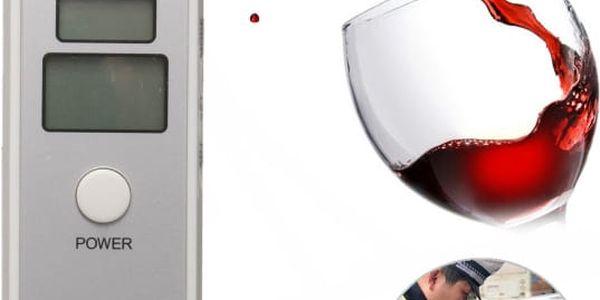 Alkoholtester se zvukovým upozorněním