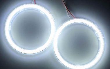 LED osvětlení pro automobil - Angel Eyes - 2 kusy