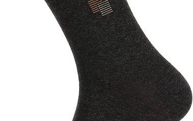 Pánské ponožky bavlněné tmavě šedá