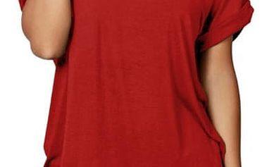 Dámské tričko v ležérním stylu