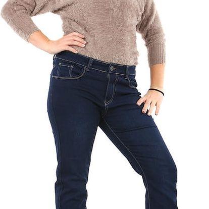 Rovné tmavé džíny
