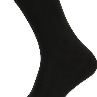 Klasické pánské ponožky černá