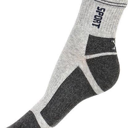 Dámské sportovní ponožky černá