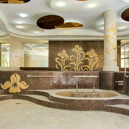 Spa hotel IRIS **** v centru Karlových Varů s polopenzí a wellness