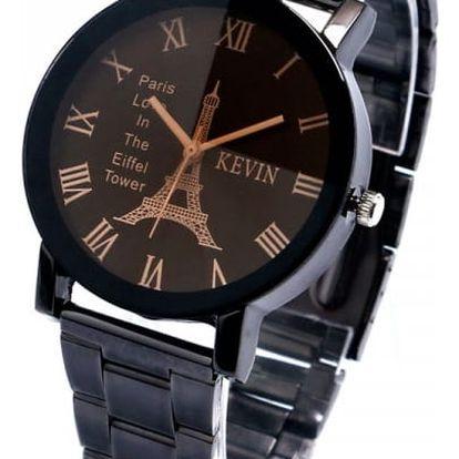 Dámské náramkové hodinky s motivem Eiffelovky - 2 varianty