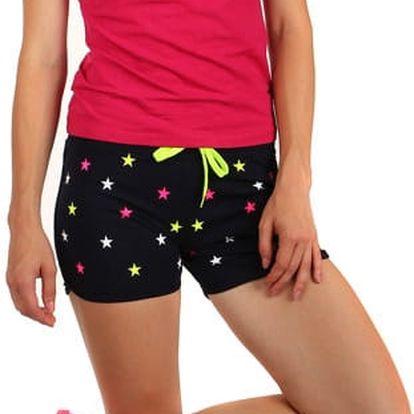 Tričko s výstřihem do véčka růžová