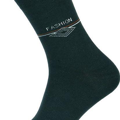 Pánské ponožky fashion zelená