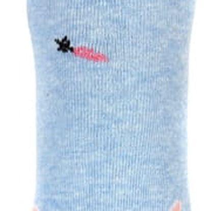 Dámské ponožky se zvířátky černá