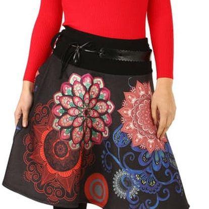 Áčková sukně s orientálním vzorem