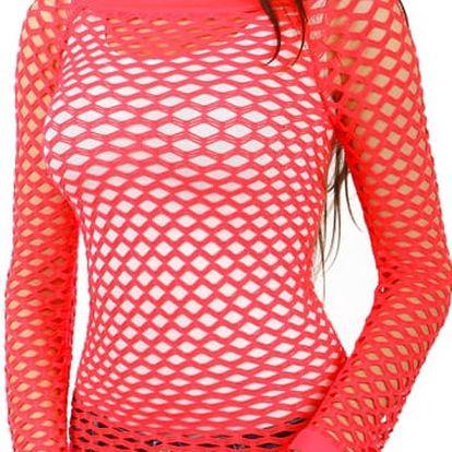 Úžasné tričko z velkých oček světle růžová