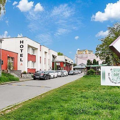 3 až 6denní letní pobyt pro 2 se snídaněmi v A Sport*** hotelu v Brně