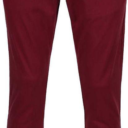 Vínové pánské kalhoty s.Oliver