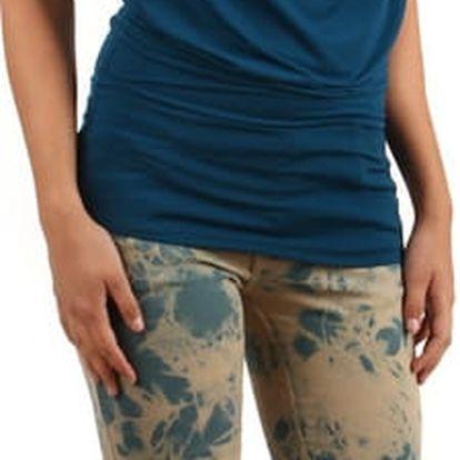 Úzké batikované kalhoty
