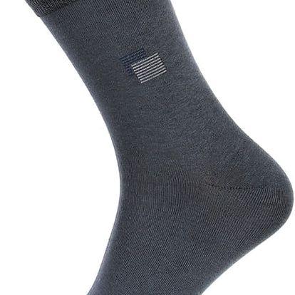 Pánské ponožky bavlněné světle modrá