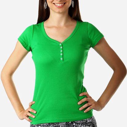 Jednoduché tričko v několika barvách zelená